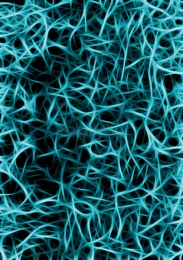De illustratie van de zenuw vector illustratie