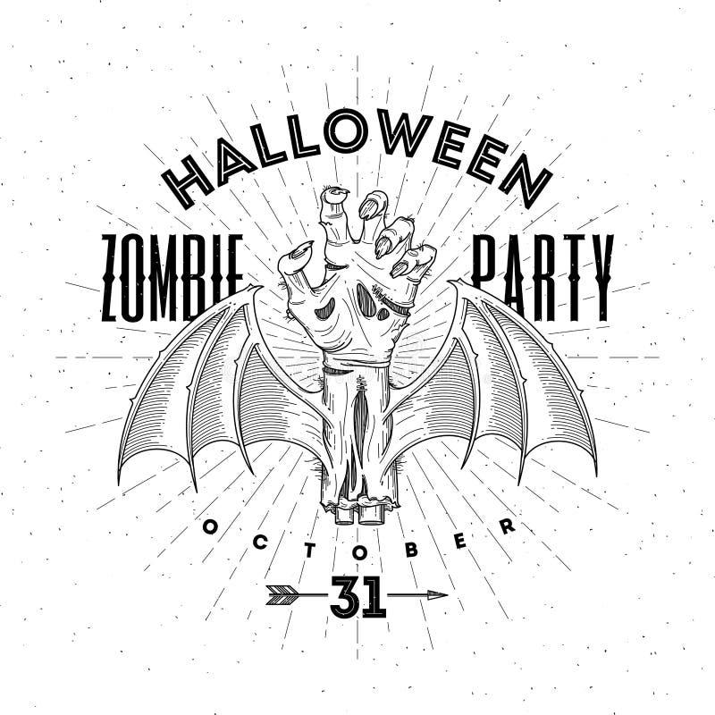 De illustratie van Halloween royalty-vrije illustratie