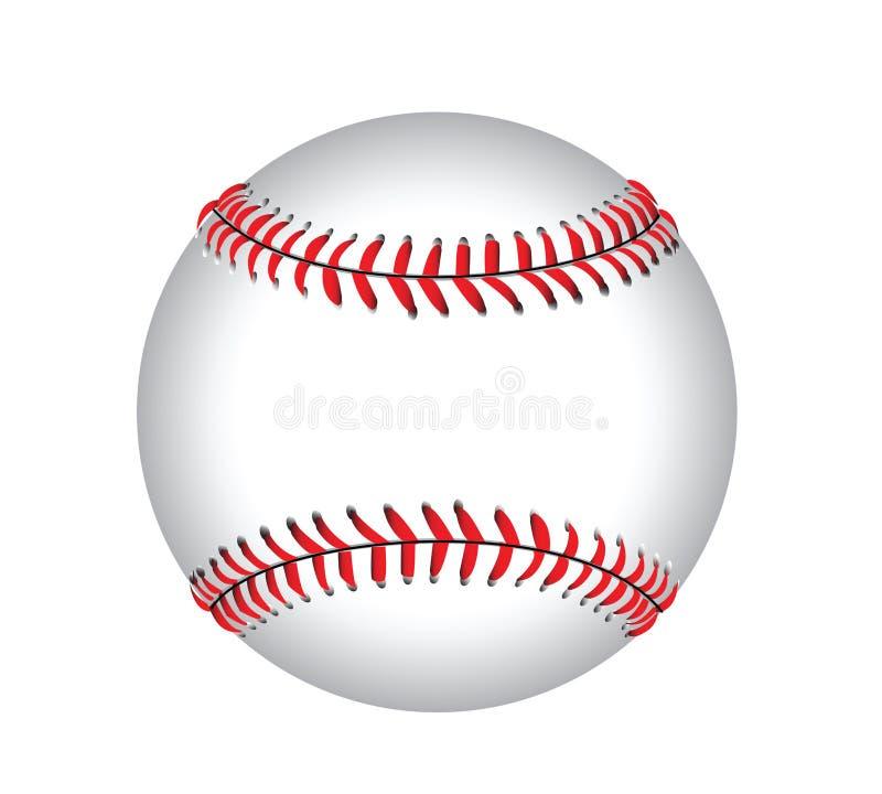 De Illustratie van het honkbal royalty-vrije illustratie