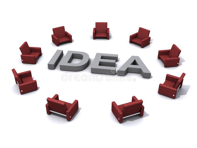 De illustratie van het idee vector illustratie