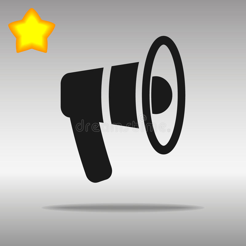 De illustratie van het sprekersmondstuk vector illustratie