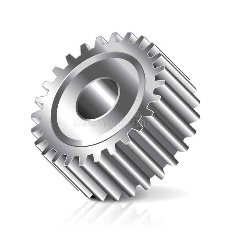 Download De Illustratie Van Het Toestelwiel Vector Illustratie - Illustratie bestaande uit staal, actie: 39100862