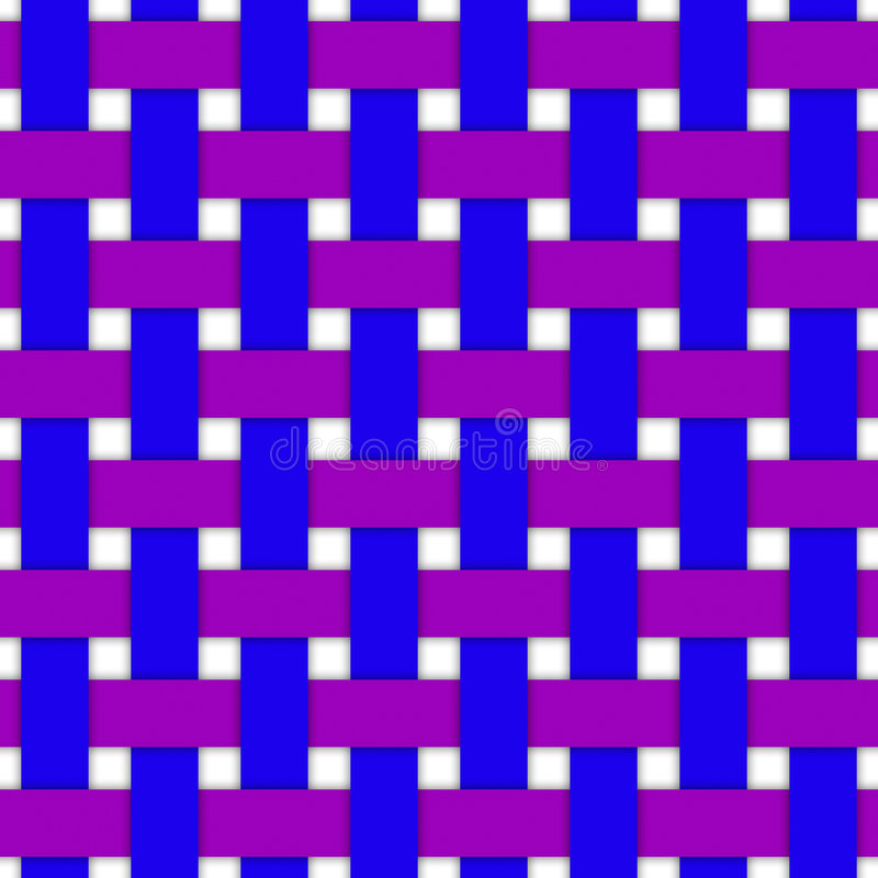 De Illustratie van het weefsel vector illustratie