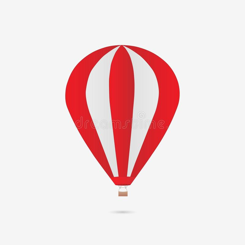 De Illustratie van de hete Luchtballon stock illustratie