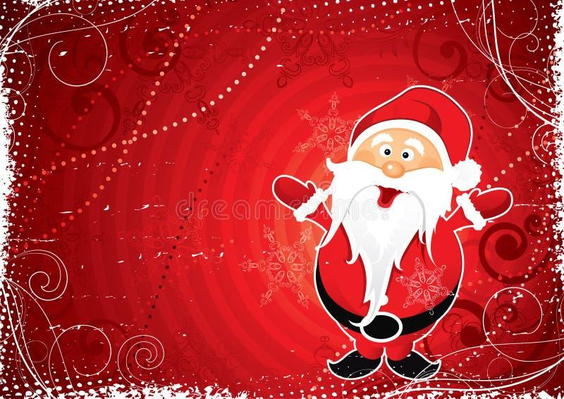 De illustratie van Kerstman royalty-vrije illustratie