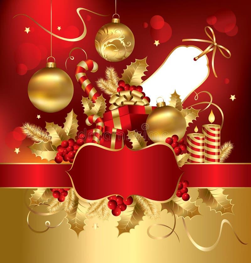 De illustratie van Kerstmis vector illustratie