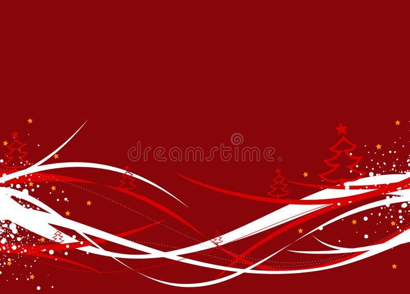 De illustratie van Kerstmis/van het Nieuwjaar royalty-vrije illustratie
