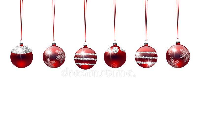 De illustratie van de Kerstmisvakantie stock foto's