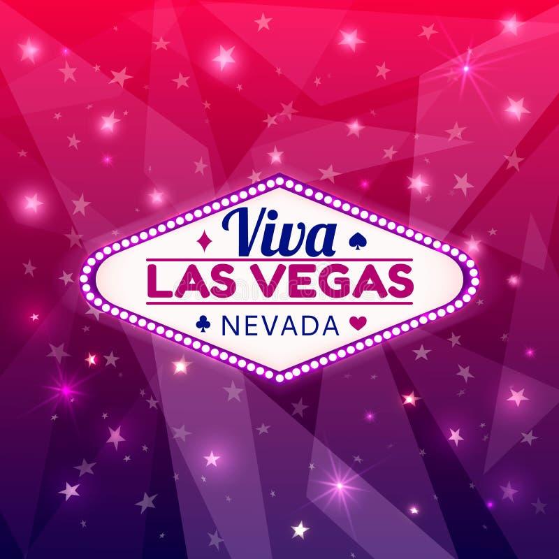 De illustratie van Las Vegas stock illustratie