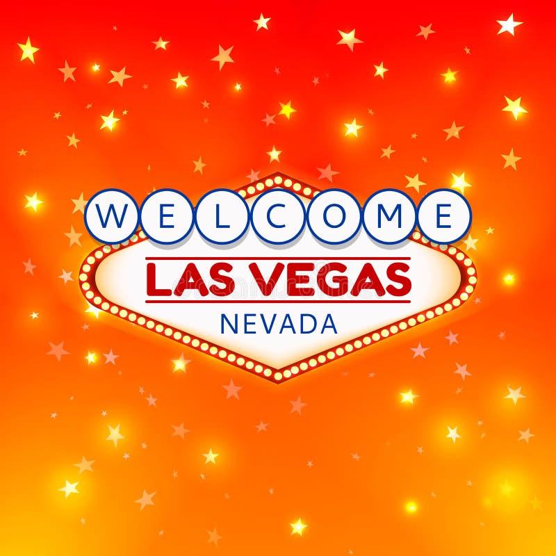 De illustratie van Las Vegas vector illustratie