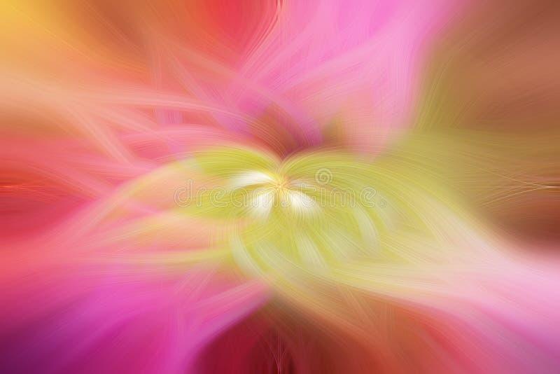 De illustratie van de de lotusbloemtextuur van de achtergrondabstractiebloem royalty-vrije stock afbeeldingen