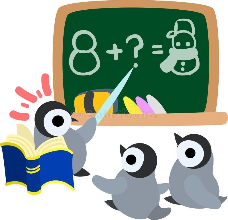 De illustratie van mooie pinguïnbabys royalty-vrije illustratie