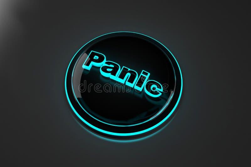 De Illustratie van de paniekknoop vector illustratie