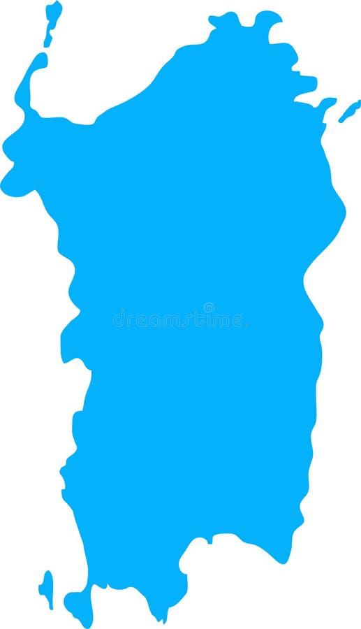 De illustratie van Sardinige vector illustratie