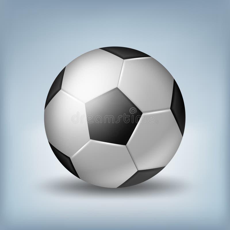 De Illustratie van de voetbalbal stock illustratie