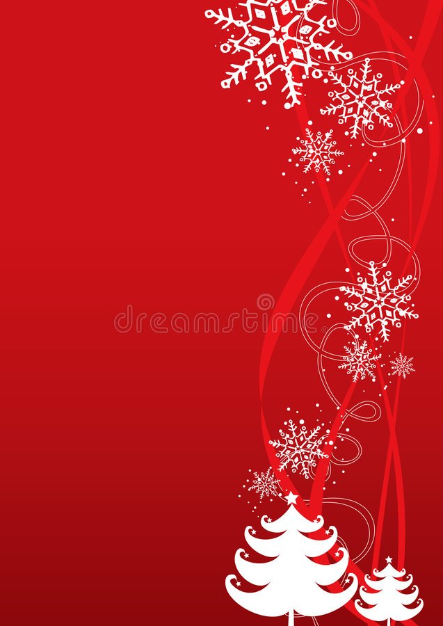 De illustratieachtergrond van Kerstmis/van het Nieuwjaar vector illustratie