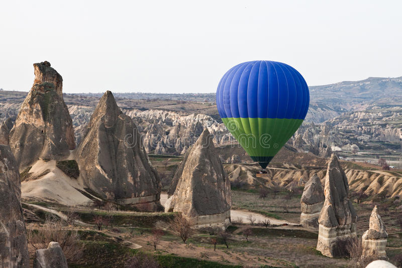 De impuls van Cappadocia. royalty-vrije stock fotografie