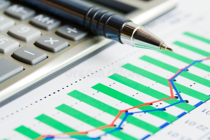 De indexdynamica van de voorraad. royalty-vrije stock foto's