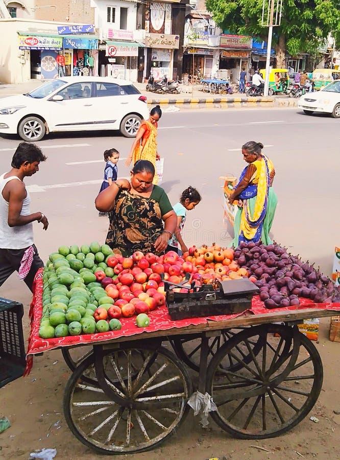 De Indische Bedrijfsstijl dit is zelf - tewerkgesteld royalty-vrije stock fotografie