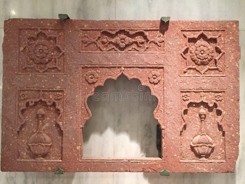 De Indische decoratie van de stijlkunst stock foto