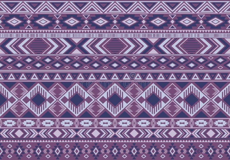 De Indonesische geometrische naadloze vectorachtergrond van patroon stammen etnische motieven royalty-vrije illustratie