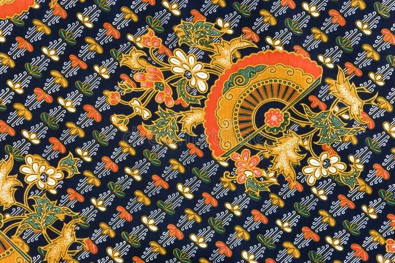 De Indonesische Sarongen van de Batik royalty-vrije stock afbeeldingen