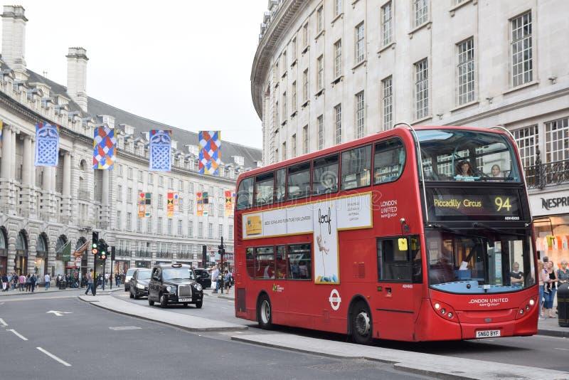 De indrukwekkende stempel van Londen 2 royalty-vrije stock foto's