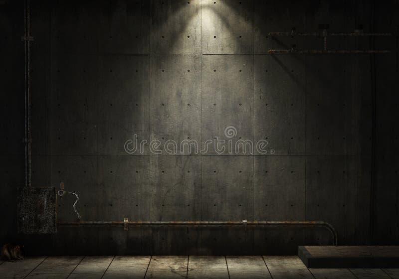 De industriële achtergrond van Grunge stock foto