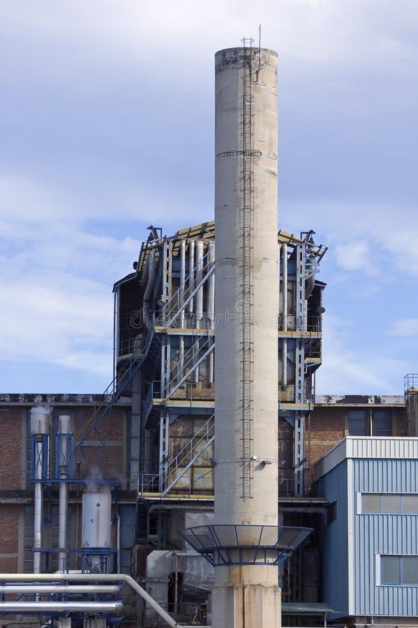De industriële bouw royalty-vrije stock foto's