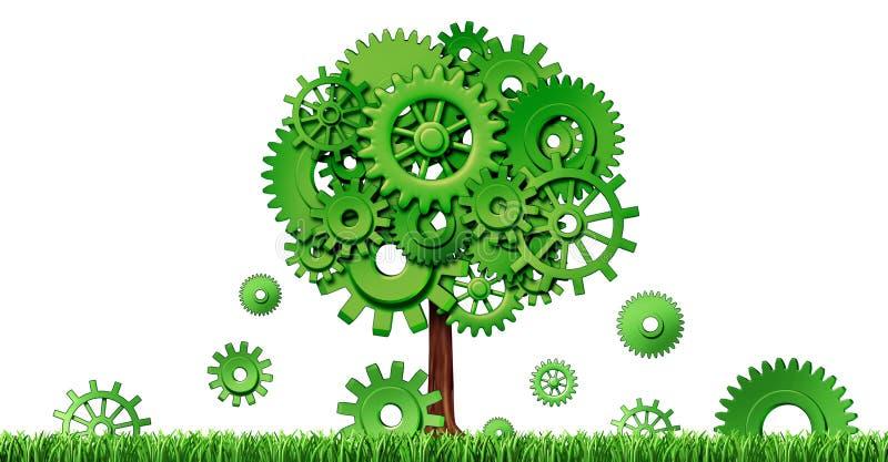 De industriële groei vector illustratie