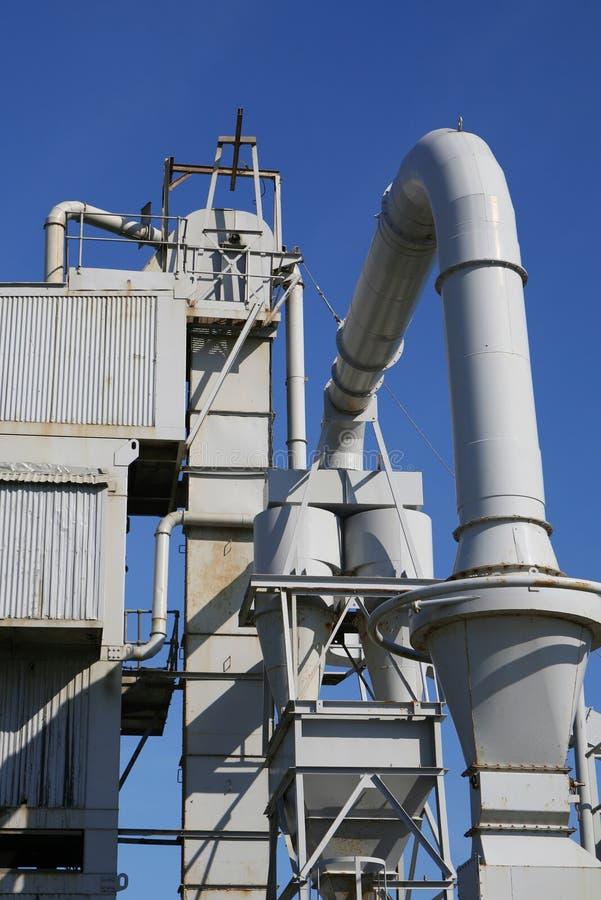 De industriële Installatie van de Fabriek stock foto
