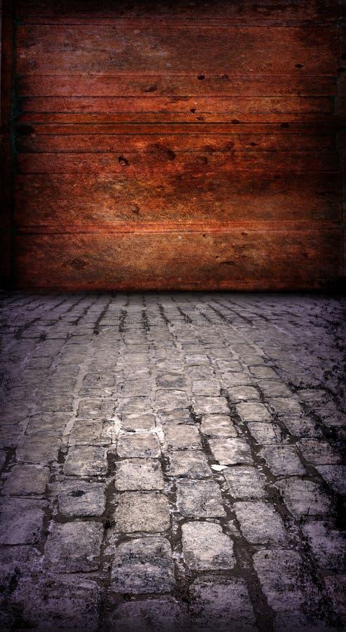 De Industriële Muur van Grunge, Achtergrond stock foto's