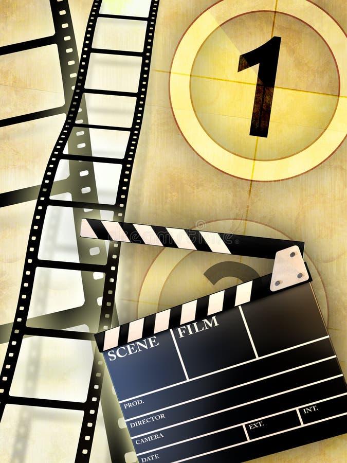 De industrie van de film vector illustratie
