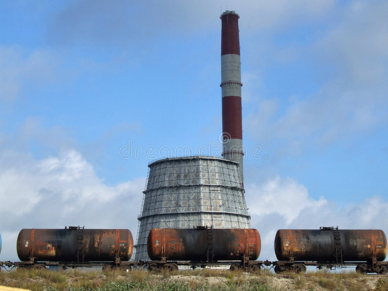 De industrie van Tallinn stock afbeeldingen