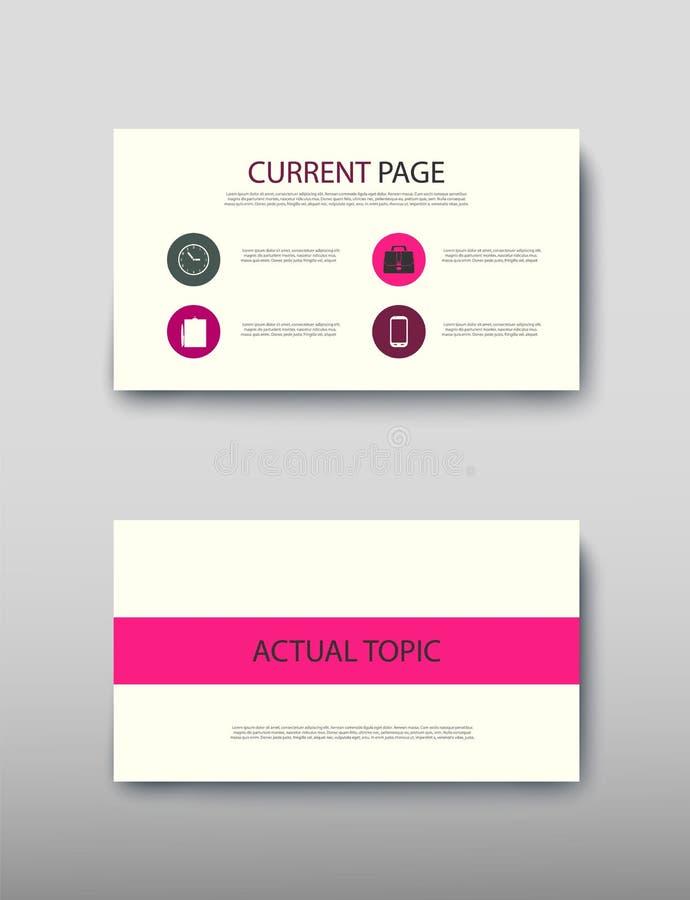 De informatie van het commerci?le van afficheinfographics de moderne advertentie ontwerpsetvoorstel stock illustratie