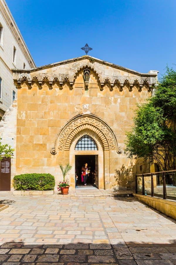 De ingang aan de Christelijke tempel royalty-vrije stock afbeeldingen