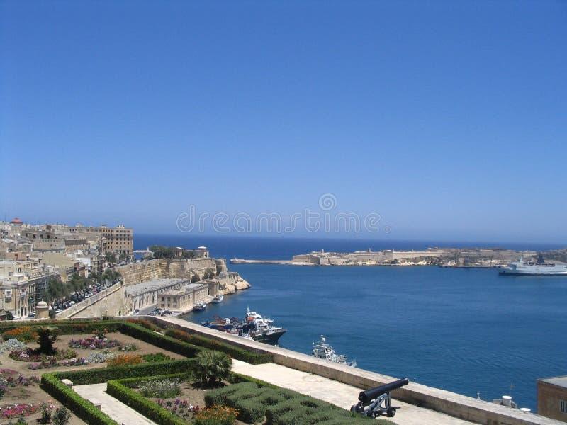 De ingang van de haven stock fotografie