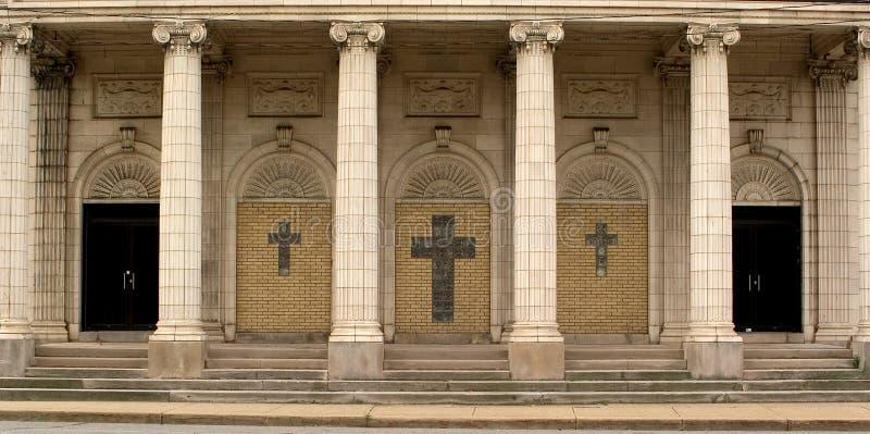 De Ingang Van De Kerk Royalty-vrije Stock Foto