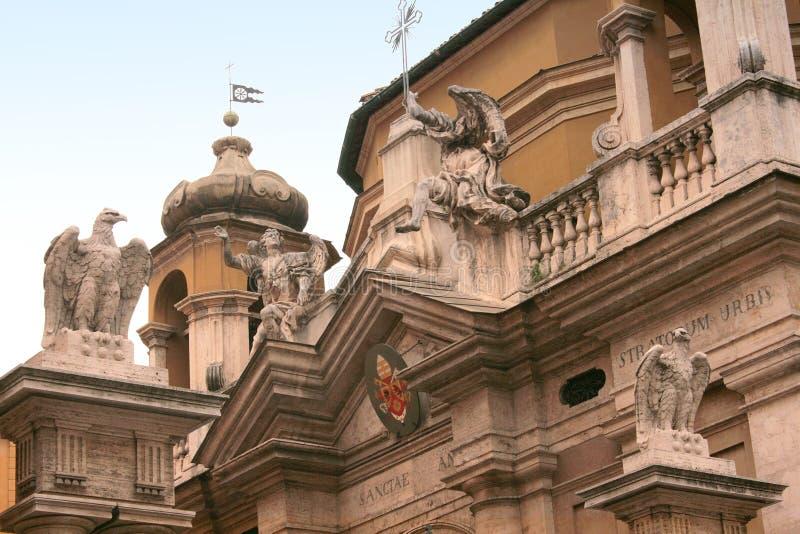 De ingang van de Stad van Vatikaan stock foto's