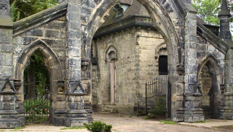 De ingang van de steen