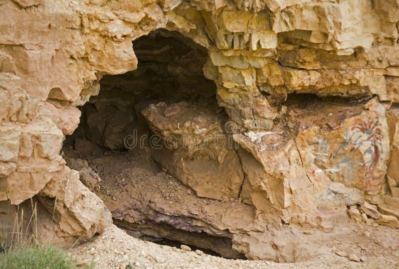 De ingang van het Hol van de Berg van de geest royalty-vrije stock afbeelding