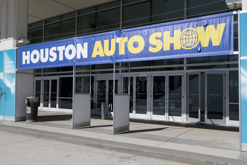 De Ingang van Houston Autoshow stock afbeelding