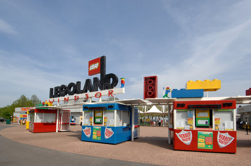 De Ingang van Legoland stock fotografie