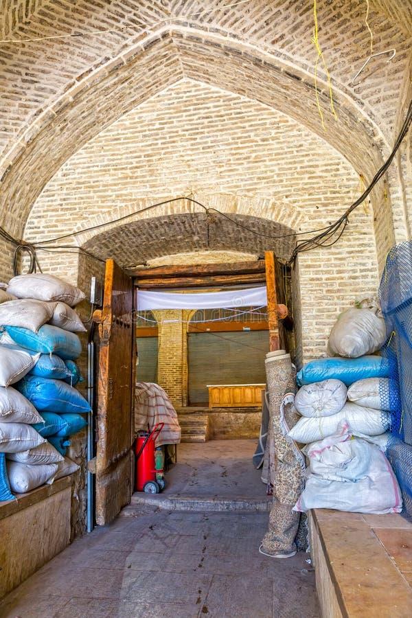 De ingang van Shiraz Bazaar E Vakil royalty-vrije stock foto's
