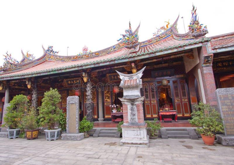 De ingang van Taiwan van de tempel royalty-vrije stock foto