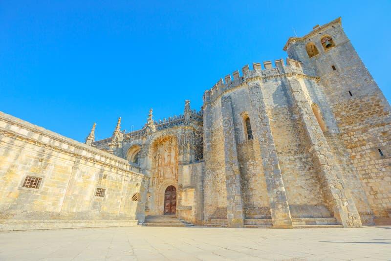 De ingang van de Templarkerk stock foto's