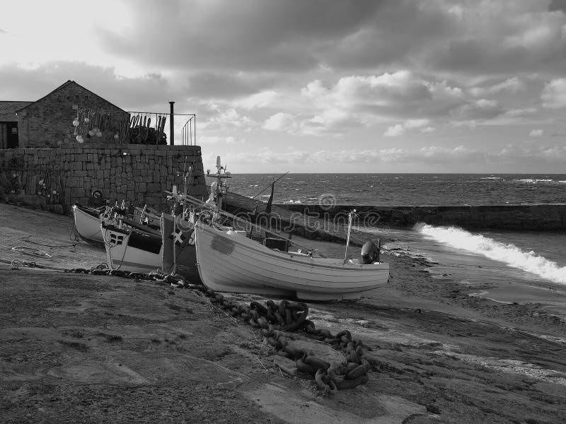 De Inham Cornwall van Sennen royalty-vrije stock foto's