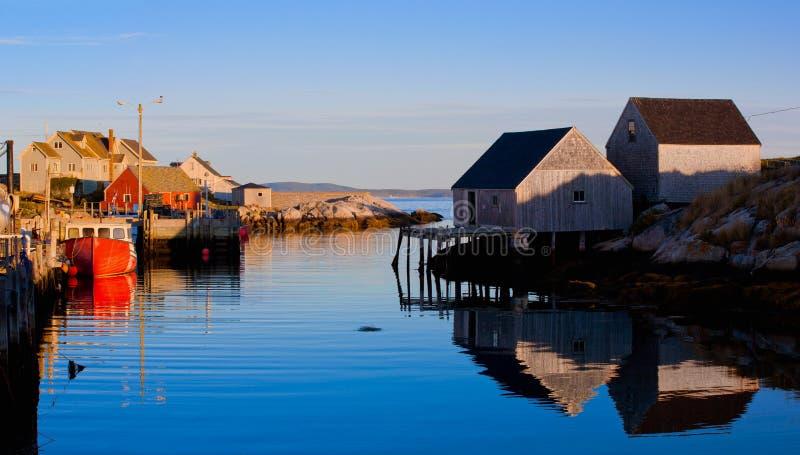 De Inham van Peggys, Nova Scotia royalty-vrije stock foto's