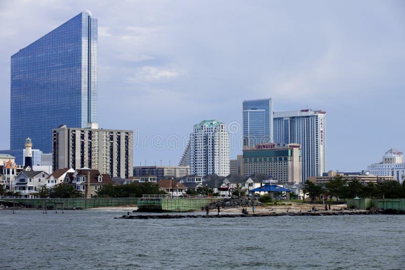 De Inhamgebied van Atlantic City stock afbeelding