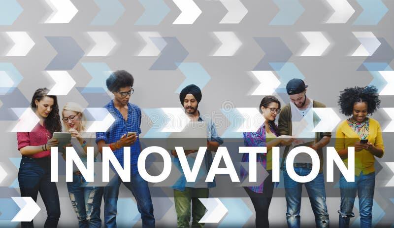De innovatie vernieuwt het Ontwerpconcept van de Uitvindingsontwikkeling royalty-vrije stock fotografie